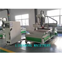 China Energy Saving Wood Cutting Cnc Router Machine Double Process Drill Up And Down on sale