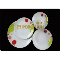 porcelain dinnerware set  20pcs coupe shape red  from guangxi BEILIU manufacturer &factory/export suppler for sale