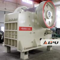 Wholesale PEV900×1200 Double Toggle Jaw Crusher Stone Crusher Machines 48t from china suppliers