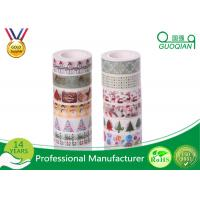 Wholesale Decorative Japanese Washi Masking Tape 0.59 Inch X 7.6 Yards Christmas Washi Tape from china suppliers