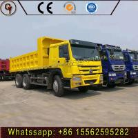 China Howo 35 Tons Capacity Diesel Heavy Dump Truck Hydraulic Lorry Front Dumper for sale