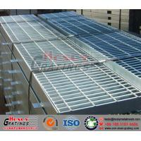 HDG Steel Grating for Trench Cover System