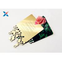 Wholesale Mirror Acrylic Gifts , Acrylic Invitation Card With Custom Shape For Wedding / Party from china suppliers