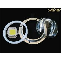 Quality High Power COB Integrated LED Module 6000K With Street Lens Borosilicate Glass for sale