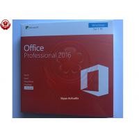 Wholesale COA License Sticker Microsoft Office Product Key English Version Ms Office 2016 Product Key from china suppliers