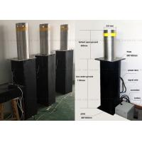 Quality Fold Down Automatic Parking Posts Road Bollard With Led , Hydraulic Control for sale