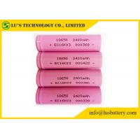 Wholesale 3.7 Volt 18650 Lithium Battery / 18650 Lithium Ion Battery 2400mah 2500mah 2600mah from china suppliers
