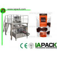 Wholesale Coffee beans Stand-Up Zip Bag Packing machine Rotary Packing Machine With Multi-head Scale from china suppliers