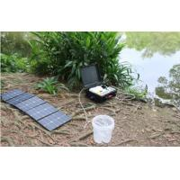 Wholesale Compact Portable Solar Water Purifier Suitcase Style DC12V DC24V Water Filtering System from china suppliers