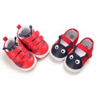 Wholesale popular pu&cotton Red shoes lovely worm toddler boy girl cute babe shoes from china suppliers
