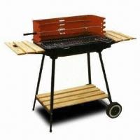 Wholesale Charcoal BBQ Grill with 57.5 x 37cm Fire Bowl and 57.5 x 37cm Working Size from china suppliers