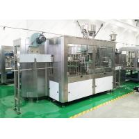 China WashingCapping Automatic Water Filling Machine Electric Driven Type For Beverage on sale