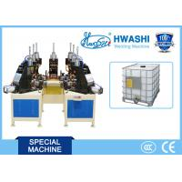 Buy cheap IBC Tank Cage Spot Welding Machine , Pipe Bage Auto Welding Machine from wholesalers