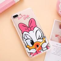 Acrylic Lovely Cartoon Characters Back Cover Cell Phone Case For iPhone 7 7 Plus 5 5s 6 6s for sale