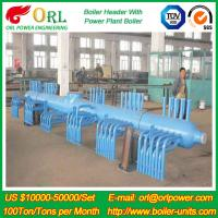 Quality 10 T Plant Rate Factor Power 300 MW Boiler Steam Header Natural Oil Chemical for sale