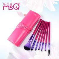 Buy cheap Beauty Foundation Rose Red Animal Hair Small Brush Set For Makeup from wholesalers