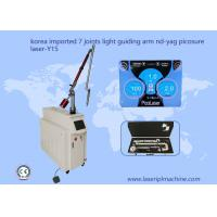 Q Switched Nd Yag Laser Tattoo Removal Machine Light Guiding Arm 7 Joints 1064nm for sale