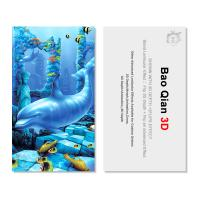 China Lenticular Printing Business Cards Digital Printing Name 3d Plastic Business Cards on sale