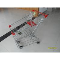 Wholesale 80L Portable Steel Wire Shopping Trolley For Medium Supermarket from china suppliers