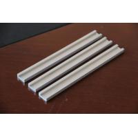 Wholesale Silver Industry Aluminum Extrusion Channel Thin Wall Mill Finished from china suppliers