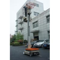 Wholesale One Man Mast Type Electric Aerial Work Platform Order Picker For Warehouse from china suppliers