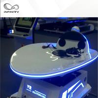 Wholesale 9D 360 Degree Rotation VR Slide Platform Virtual Reality Arcade Machine from china suppliers