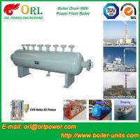 Quality Power plant boiler spare part mud drum ORL Power ISO9001 certification manufacturer for sale