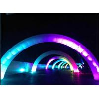 Wholesale Lighting Decorative Inflatable Arch Rainbow Shape For Race Running from china suppliers
