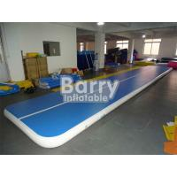 Wholesale 10cm / 20cm / 30cm High Blue Air Track Gymnastics Mat Custom Made from china suppliers