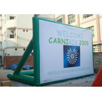 Quality Printed Billboard PVC Tarpaulin Inflatable Screen Banner for Promotion for sale