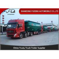 Wholesale 50 M3 Bulk Cement Tanker Trailer self loading cement with diesel engine from china suppliers