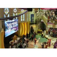 Wholesale SMD Full Color Church LED Screen With Portable Video , High Resolution LED Curtain Display from china suppliers