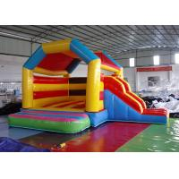 Wholesale Funny Inflatable Combo Slide Bounce House / Moonwalk Bouncer For Playground from china suppliers