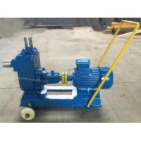 China ZW Self priming effluent drainage pump with trailer  not clogging sewage pump for sale