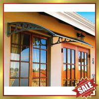 Buy cheap excellent sunshade rain shield outdoor house porch window door polycarbonate pc DIY awning canopy canopies cover from wholesalers