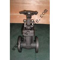 China Forged Steel Gate Valve Double Flange A105N on sale
