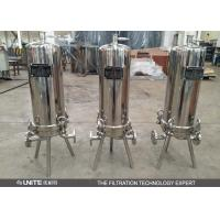 Buy cheap Stainless steel cartridge filter housing with multi cartridge elements from wholesalers