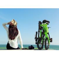 """Wholesale Aluminium Alloy Frame Smallest Folding Bike 12"""" Inflate Tyre With Speed Adjustable from china suppliers"""