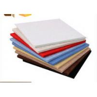 Quality White Red Blue Polyester Decorative Acoustic Wall Panels / Ceiling Board for sale