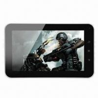 """Wholesale 7"""" Ultra-thin 512MB/4GB Tablet PC, Allwinner A10/Android 4.0 OS/Camera/G-sensor/5-point Capacitive from china suppliers"""