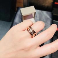 Wholesale Four Band Bvlgari B Zero1 / Zaha Hadid Ring Rose Gold For Enterprise Banquet from china suppliers