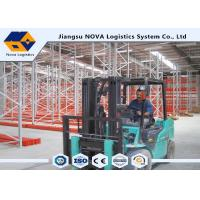 China Cost Effective Pallet Warehouse Racking With Durable Steel / Epoxy Powder Coated on sale