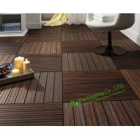 China Indoor-Outdoor Bamboo Tile Manufactuer In China, Water Resistant Bamboo Deck Tiles For Sale on sale