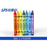 Wholesale Colorful Triangle Kids Painting Tools Gel Wax Crayons Non Toxic 12 Colors from china suppliers