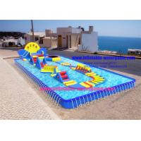 China Summer Inflatable Outdoor Water Toys , Ultimate Inflatable Backyard Water Park on sale