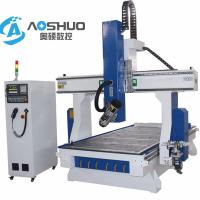 China China Servo Motor 1325  woodworking Cnc Router Machine 4 Axis Engraving Machine 1300*2500*200mm on sale