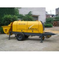 Wholesale Stationary Trailer Mounted Concrete Pump HBT80.13.110S With Motor Power from china suppliers