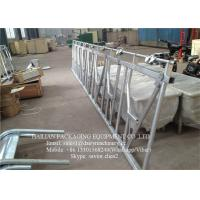 Wholesale Cattle crush Head Lock Farm Equipment Hot-galvanized Steel Pipe from china suppliers