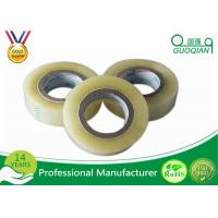 Wholesale Single Sided Transparent BOPP Packing Tape / Masking Tape Tensile Strength SGS ROHS from china suppliers