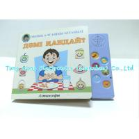 Wholesale Eductational Learning Custom 6 Button Sound Book Module For babies from china suppliers